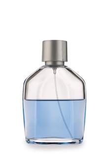 Glases parfumfles geïsoleerd