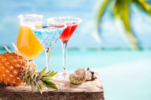 Glazen cocktails