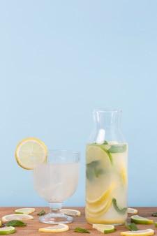 Glazen met drankjes