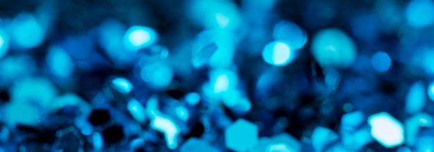 Glinsterende blauwe glitter