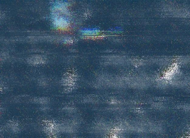 Glitch abstracte textuur achtergrond digitale pixelruis