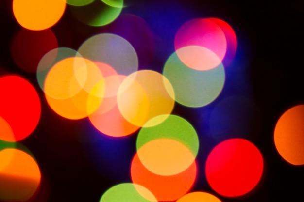 Glitter bokeh kleur lichten intreepupil achtergrond