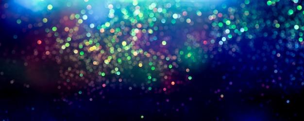 Glitter bokeh-lichteffect kleurrijke vage abstracte achtergrond