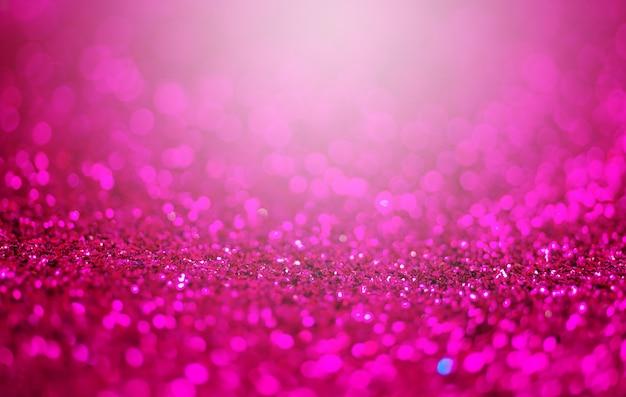 Glitter licht abstracte paarse bokeh licht wazig achtergrond