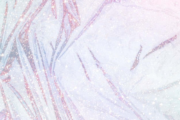 Glitter roze glanzende kunststof oppervlaktetextuur