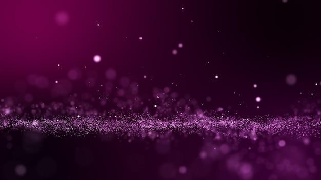 Glitter roze paarse deeltjes abstracte achtergrond