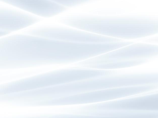 Gloeiende witte achtergrond met vloeiende lijnen