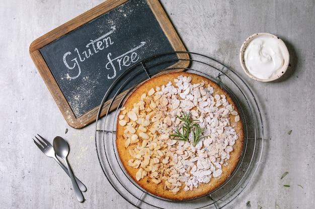 Glutenvrije amandelcake