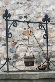 Goed bij fort van louisbourg, louisbourg, cape breton island, nova scotia, canada