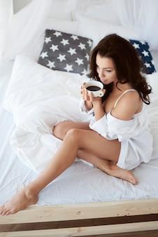 Goede koffie in de ochtend