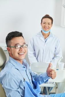 Goede tandheelkundige kliniek
