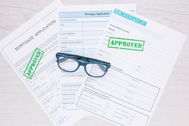 Goedgekeurde aanvragen voor kredietlening