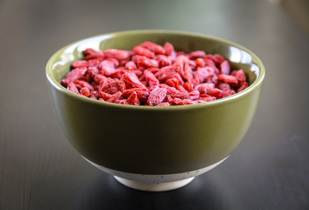 Goji bessen gedroogd superfood