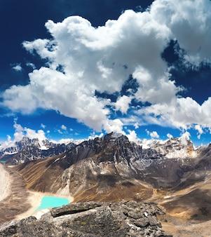 Gokyo-meren in nepal