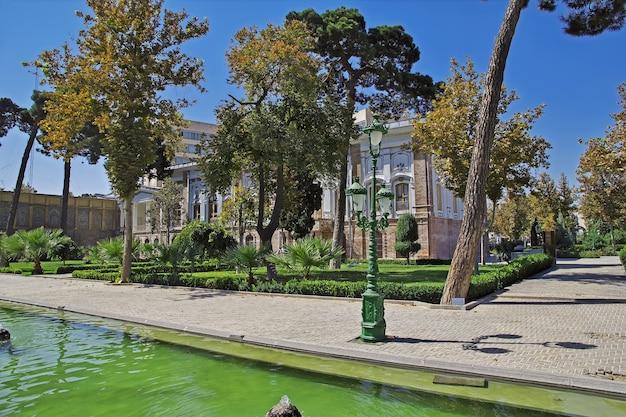 Golestan paleis in teheran stad iran