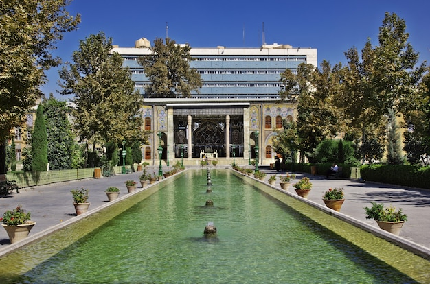 Golestanpaleis in de stad van teheran, iran
