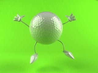 Golf, illustratie
