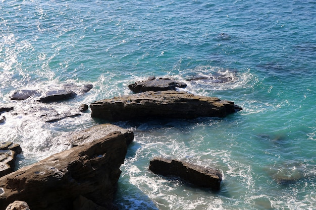 Golf in de zee