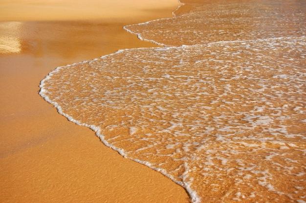 Golf op het zand
