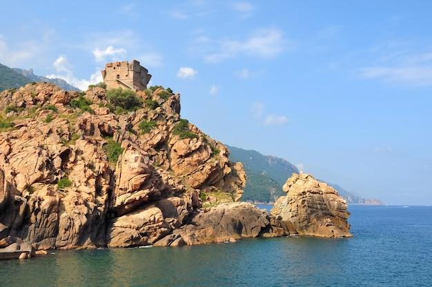Golf van porto in corsica
