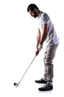 Golfspeler man