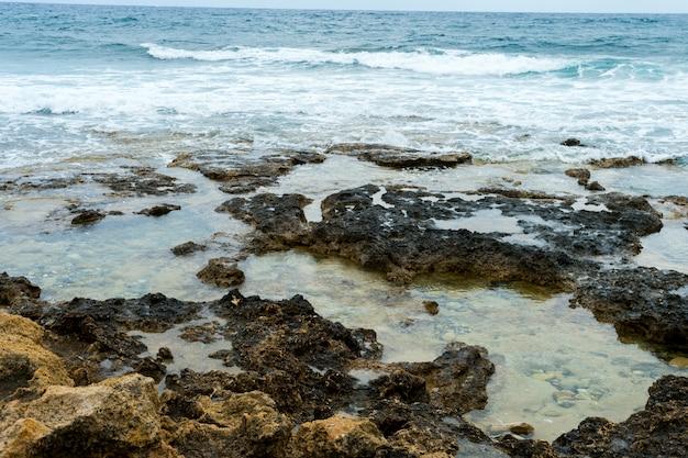 Golven in de middellandse zee