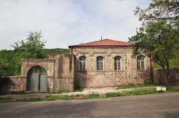 Goris is een kleine stad in de bergen van de kaukasus in armenië