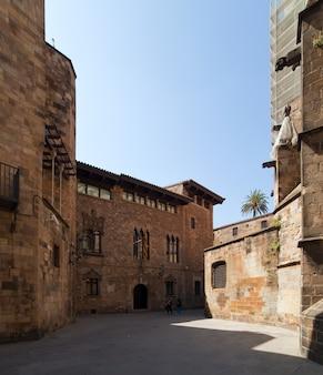 Gotische architectuur in barcelona