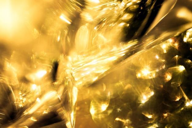 Goud bokeh colorfull wazig abstracte achtergrond voor verjaardag