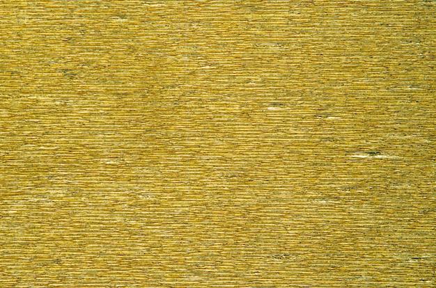 Goud gecanneleerd papier