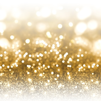 Goud glitter kerstmis achtergrond