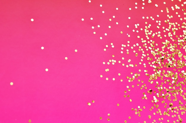 Goud schittert glitter. glitter feestelijke sparkles ontwerp.
