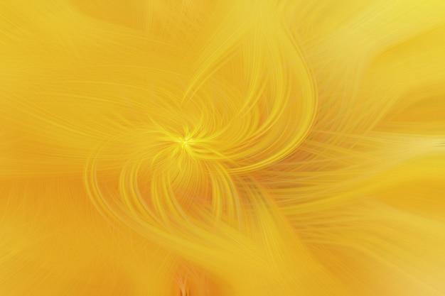 Gouden abstract haar als achtergrond in draaivorm.