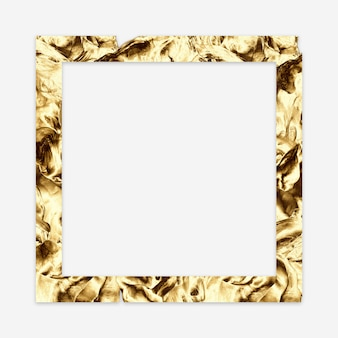 Gouden abstract minimaal frame