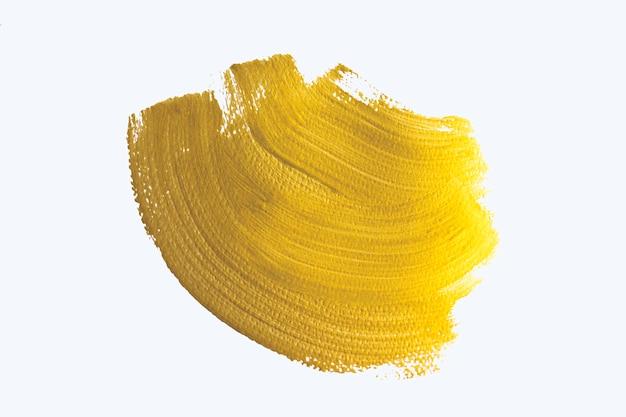 Gouden abstracte aquarel achtergrond.