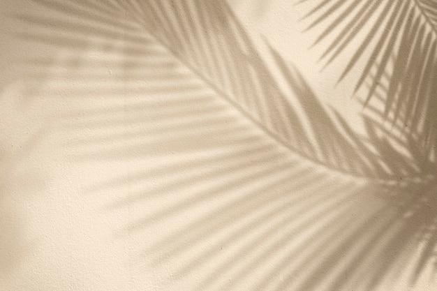 Gouden achtergrond met palmboom