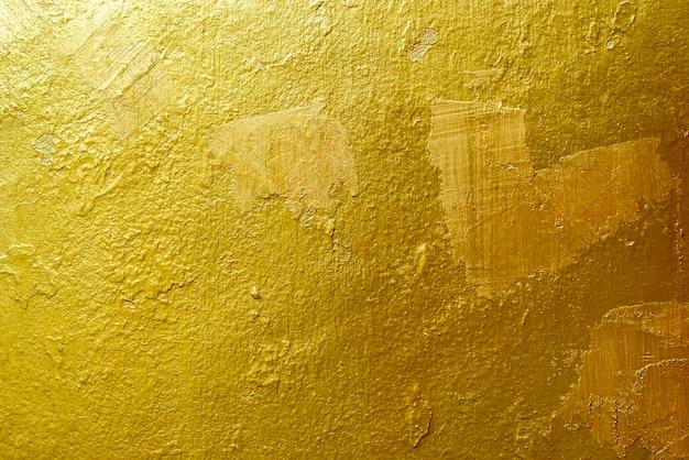 Gouden achtergrond of textuur en gradiënsschaduw