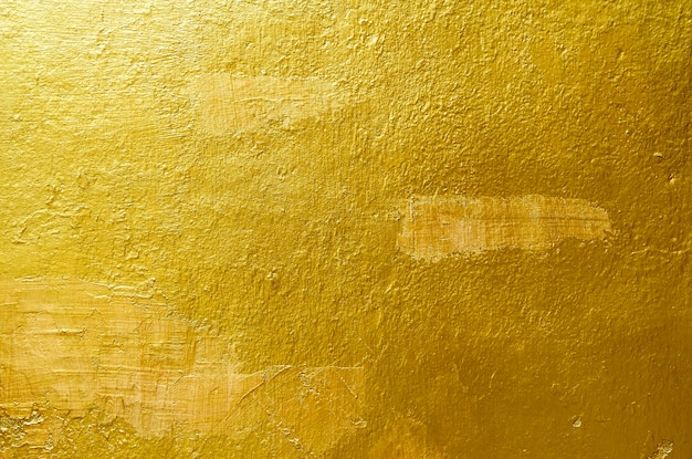 Gouden achtergrond of textuur en gradiëntenschaduw, het werk van de ontwerpkunst.