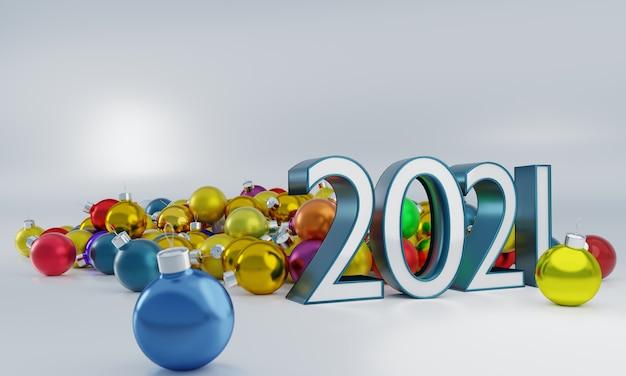 Gouden ballonnen en kerstversieringen