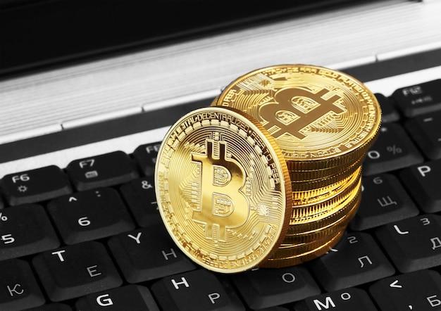 Gouden bitcoin