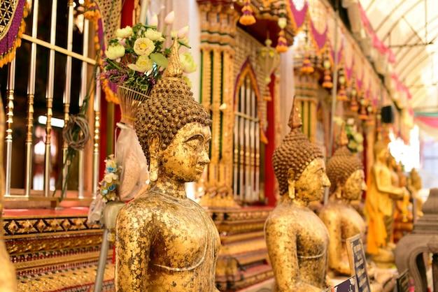 Gouden boeddhabeeld, thailand