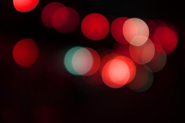 Gouden bokeh abstracte licht, oranje achtergrond