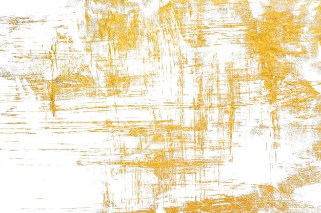 Gouden concrete textuur. gouden kleur geschilderd op cementmuur voor achtergrond en behang