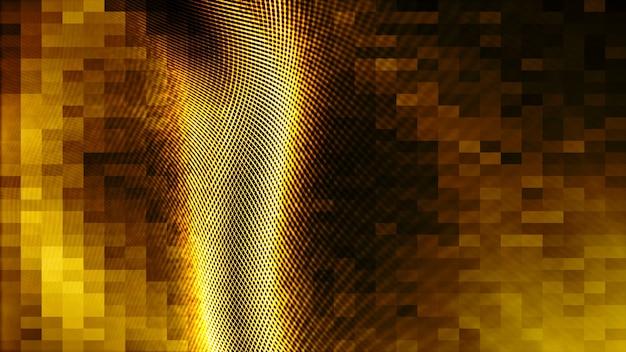 Gouden de kleuren abstracte achtergrond van de golf