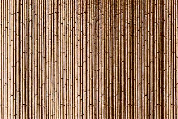Gouden geweven bamboe strepen