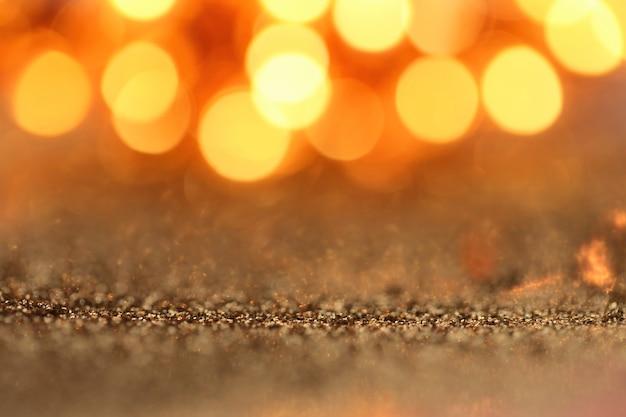 Gouden glitter macro achtergrond