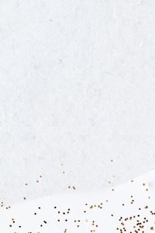 Gouden glitter op abstracte witte achtergrond