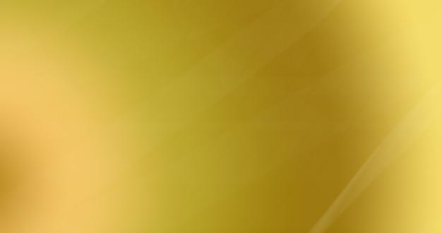 Gouden kleurverloop met vage lijn als abstracte achtergrond