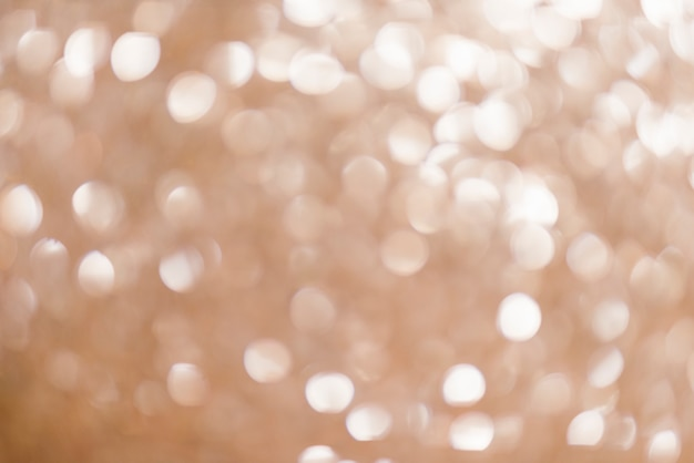 Gouden lichten voor kerstmisachtergrond
