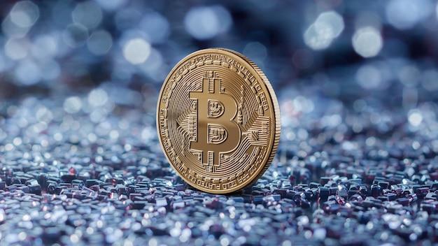 Gouden munten bitcoin